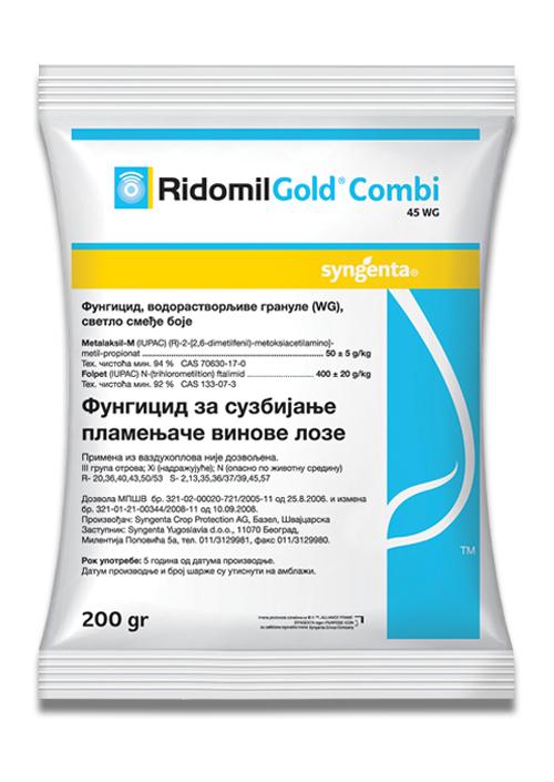RIDOMIL GOLD COMBI 45 WG